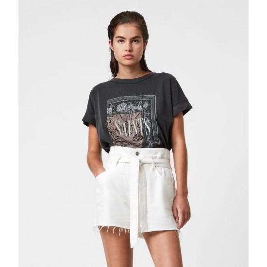 Allsaints En Solde T-Shirt Zebura Imogen Boy