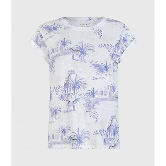 Allsaints En Solde T-Shirt Anna Tajpur
