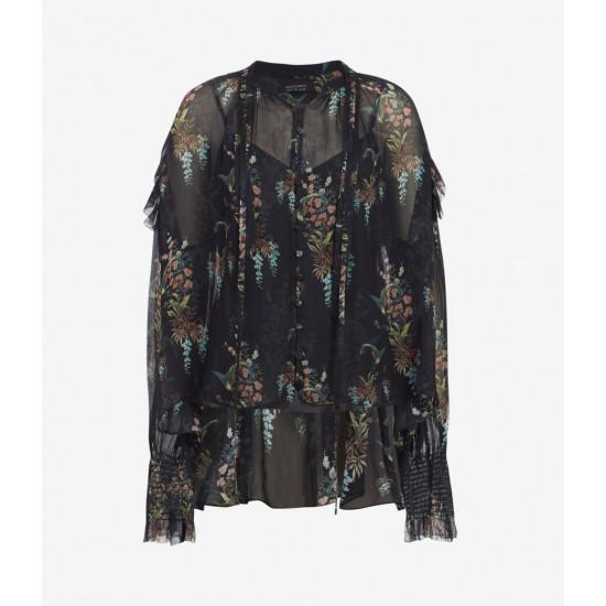 Allsaints En Solde Lara Melisma Shirt