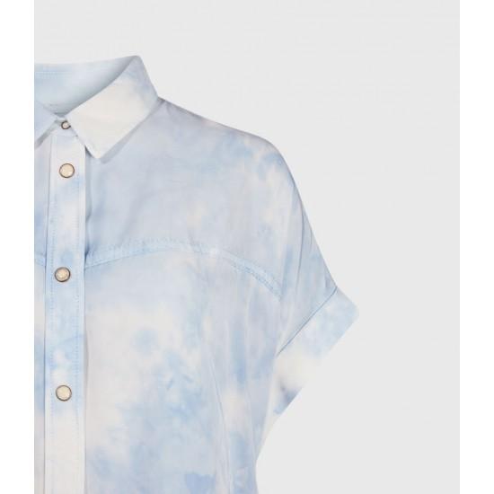 Allsaints En Solde Chemise Aliza Tie & Dye