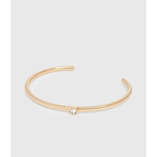 Allsaints En Solde Bracelet à Détail en Quartz Clarity