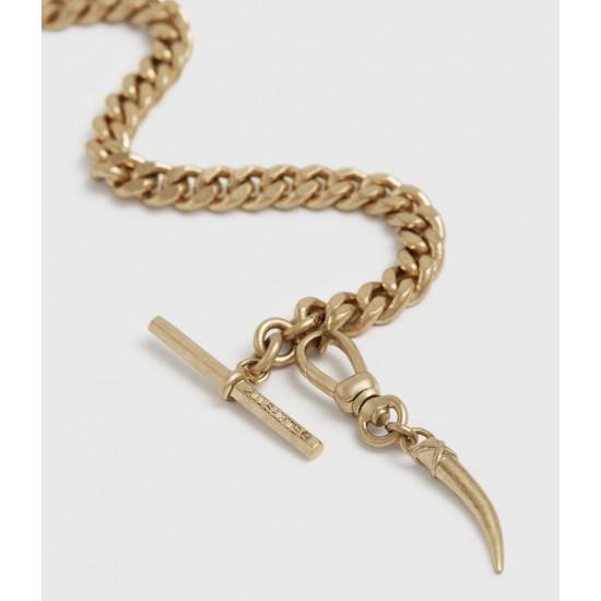 Allsaints En Solde Gila Gold-Tone Bracelet