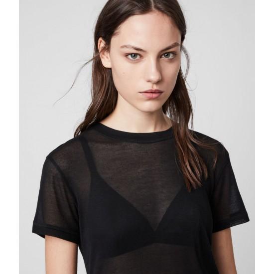 Allsaints En Solde T-Shirt Ultra Léger Francesco