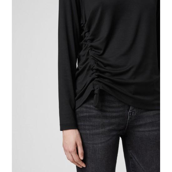 Allsaints En Solde T-Shirt à Manches Longues Ryder Lux