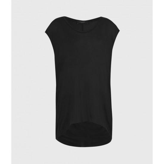 Allsaints En Solde T-Shirt Drapé Yasmine