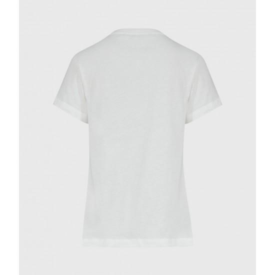 Allsaints En Solde T-Shirt à Nœud Olivia