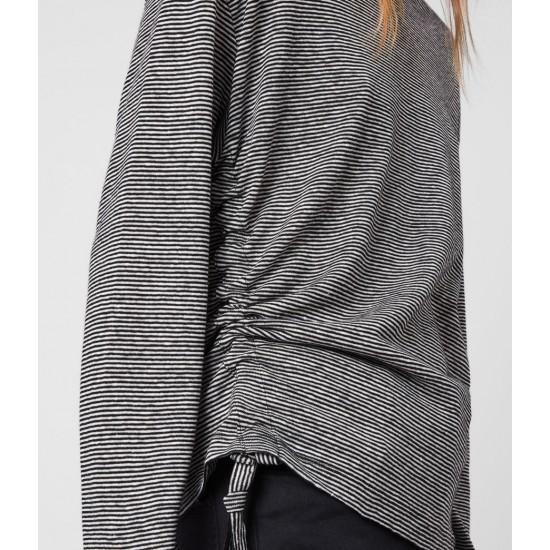Allsaints En Solde T-Shirt à Manches Longues Ryder Lin