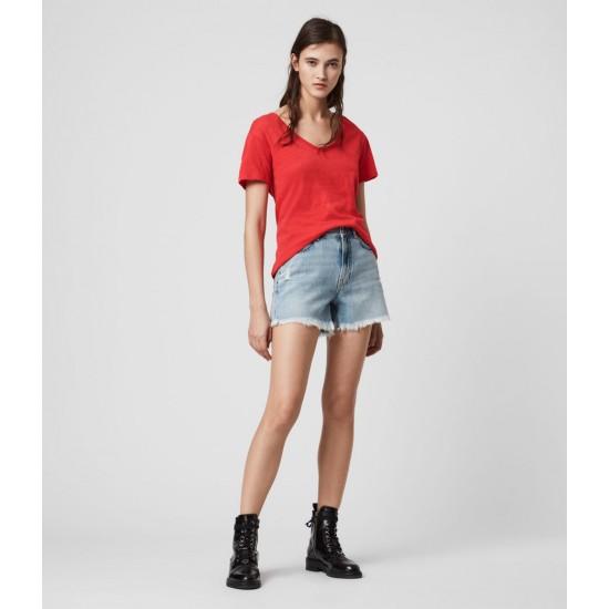 Allsaints En Solde T-Shirt Manches Courtes Mia Fifi