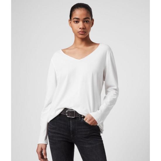 Allsaints En Solde T-Shirt Manches Longues Emelyn Tonic
