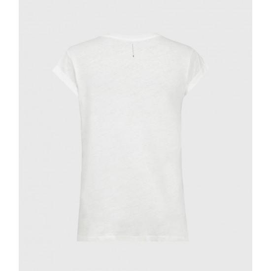 Allsaints En Solde T-Shirt Dévoré Anna