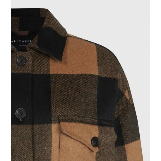 Allsaints En Solde Luella Check Jacket