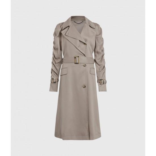 Allsaints En Solde Cecil Trench Coat
