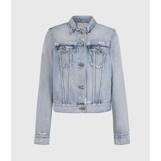 Allsaints En Solde Hay Denim Jacket
