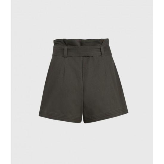 Allsaints En Solde Corrine Mid-Rise Shorts