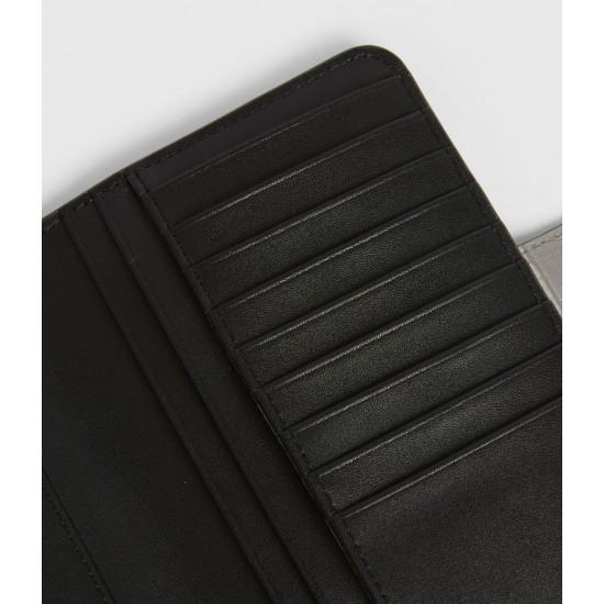 Allsaints En Solde Ray Crocodile Leather Wallet