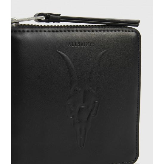 Allsaints En Solde Clapham Leather Wallet