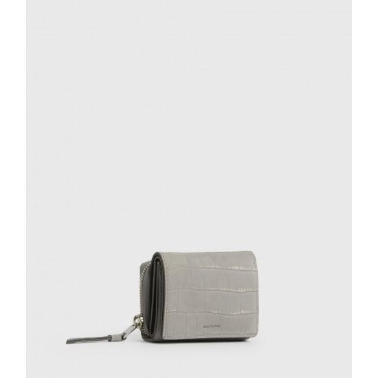 Allsaints En Solde Bede Leather Cardholder