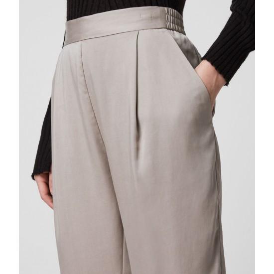 Allsaints En Solde Pantalon à Pinces Jambe Fuselée Alva