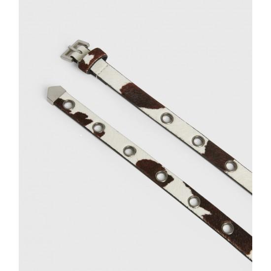 Allsaints En Solde Kristin Leather Belt